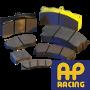 Pastilhas de travão para competição AP Racing